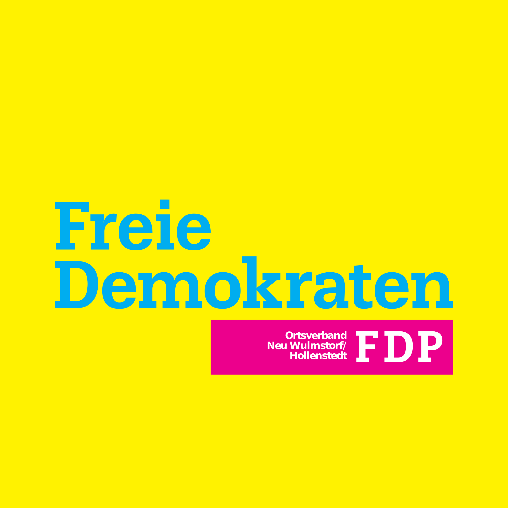 FDP - Freie Demokraten